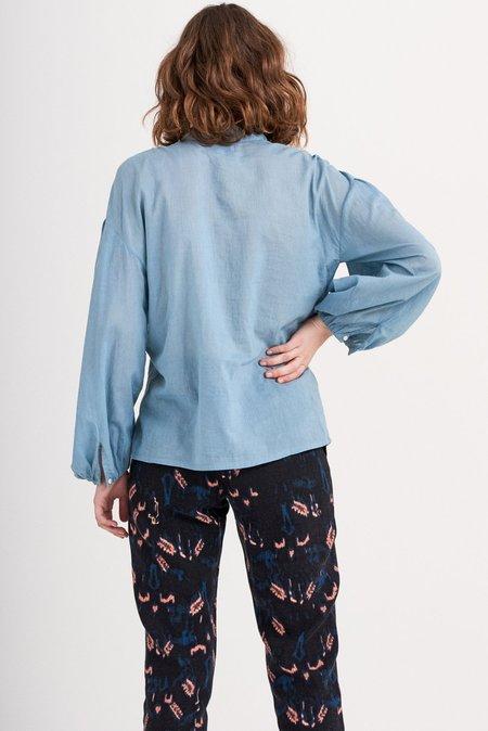 Antik Batik Lala Blouse - Sky Blue