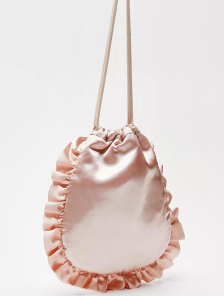 HVISK Lemons Drawstring Bag - Peach