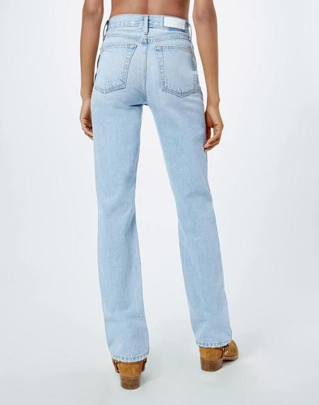 RE/DONE 90s High Rise Loose Jean - Bleach Destroyed