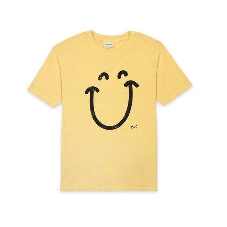 Unisex Bobo Choses Smile Tee Shirt - Yellow