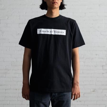 Raised by Wolves Strength Tee - Black