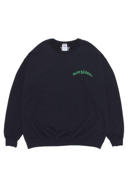 WACKO MARIA Tim Lehi Crew Neck Sweat Shirt Type-2 - Black
