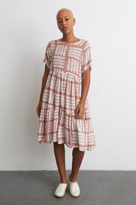 Osei-Duro Layer Dress - Pink Basket