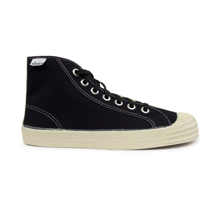 Novesta Star Dribble Contrast Hi Top Sneaker - Black