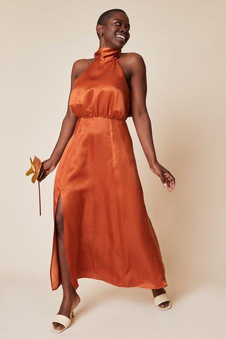 Whimsy + Row Ellis Dress - Rust