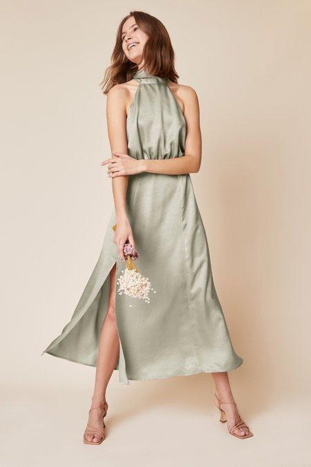 Whimsy + Row Ellis Dress - Sage
