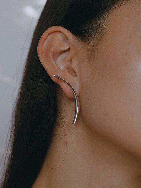 Faris Phase Earring - Sterling Silver