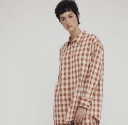 Rita Row Venus Shirt - Brown Check