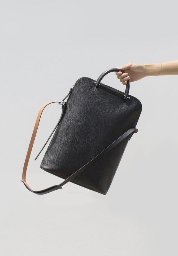 Building Block Pebbled Black Lite Business Bag