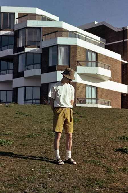 Gramicci ST-Shorts - Deep Mustard