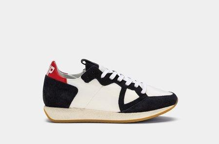 Philippe Model Monaco Vintage Sneakers - Basic Blanc
