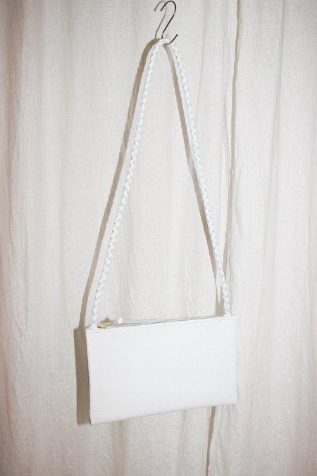 ARA Handbags Shoulder Strap 2.5 bag - White Pebble