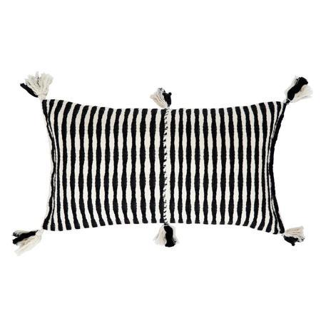 Archive New York Antigua Pillow - Black/Ivory