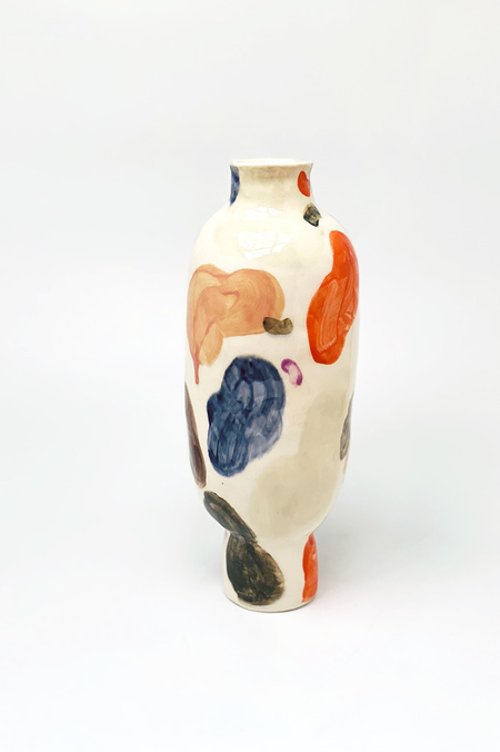 A.Cheng Dreams Koi Vase - Multi