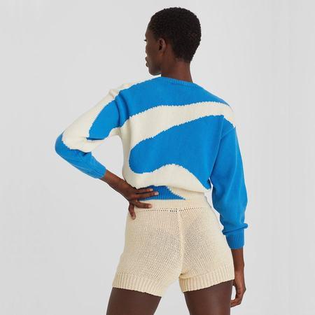Paloma Wool Pin Sweater - Blue