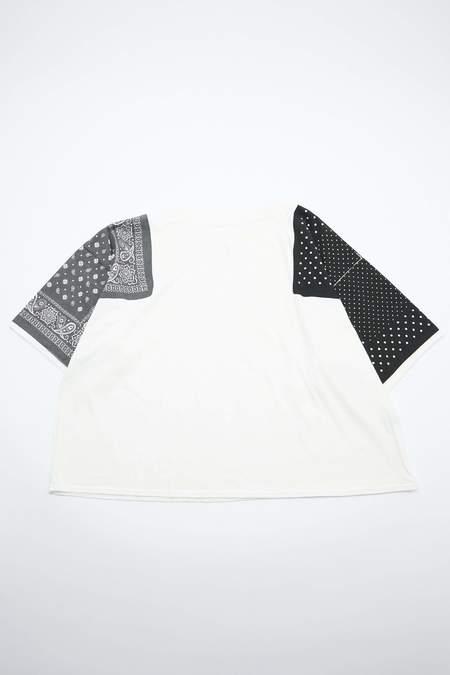 Kapital Jersey Bandana HUGE Top - Black