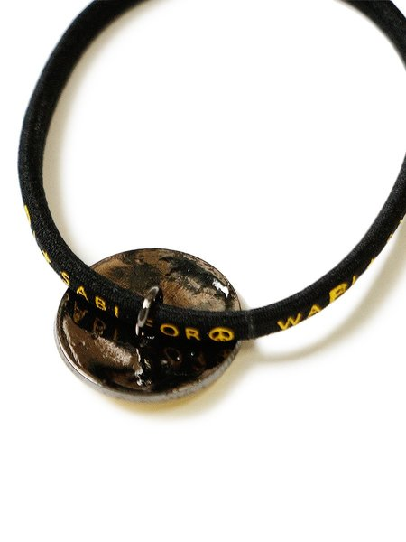 Kapital RAIN SMILIE Concho Hairband - Black