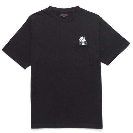 Clot Pocket Panda Tee - Black