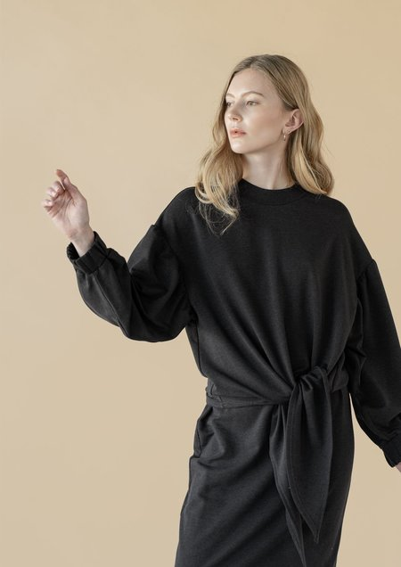 Vestige Story Dialogue Sweatshirt - Black