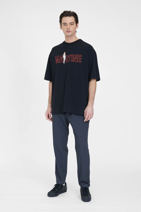 Martine Rose Brittle T-Shirt - Black