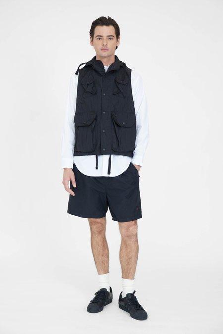 Engineered Garments Nylon Micro Ripstop Field Vest - Black