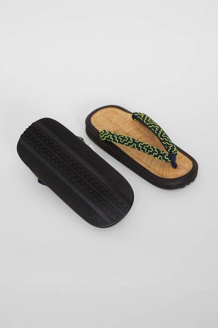 FDMTL Sashiko Sandal - Neon