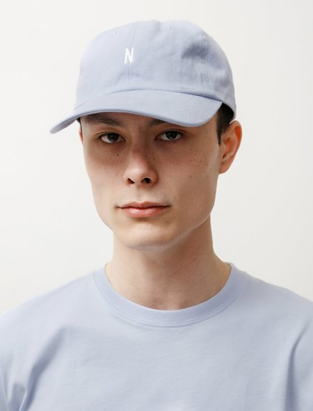 Norse Projects Twill Sports Cap - Clouded Blue