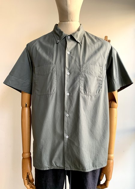 Save Khaki Poplin B.D. Collar Rec Shirt