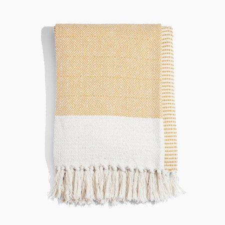 Poketo Striped Cotton Throw