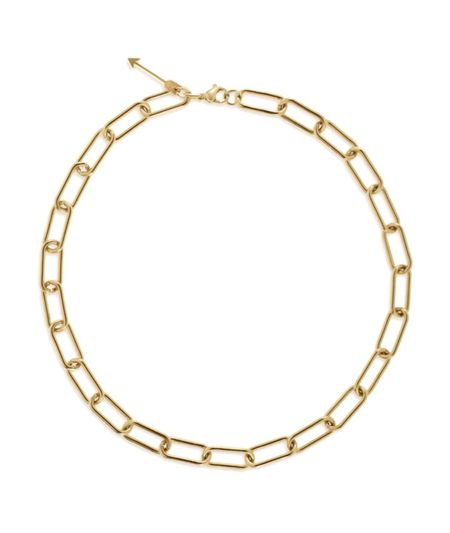 Ellie Vail Jewelry Carla Paper Clip Chain Necklace - Stainless steel