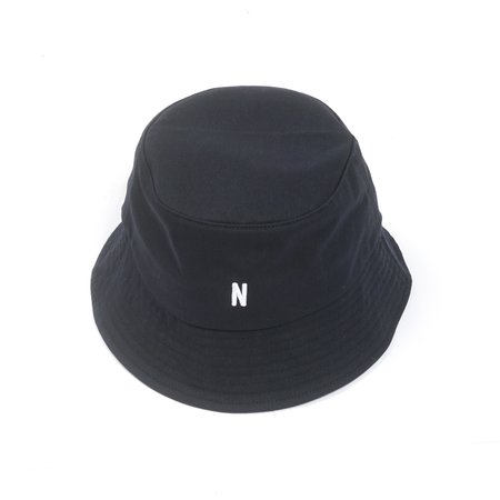 Norse Projects TWILL BUCKET HAT - DARK NAVY
