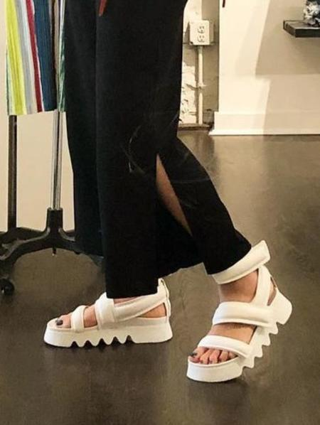 Puro Down2Earth sandals - Black