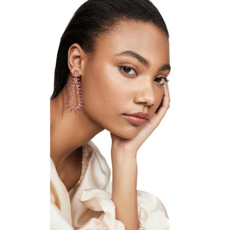 Elizabeth Cole Beatrix Earrings - Pink