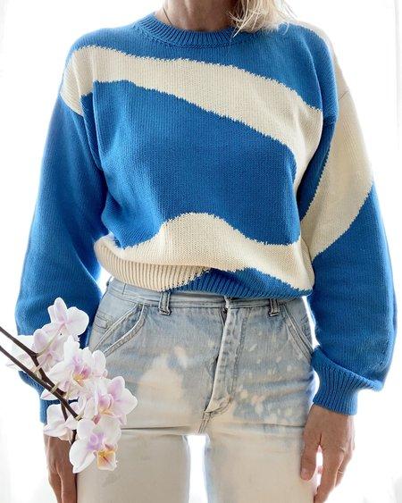 Paloma Wool Pin Sweater - Soft Blue