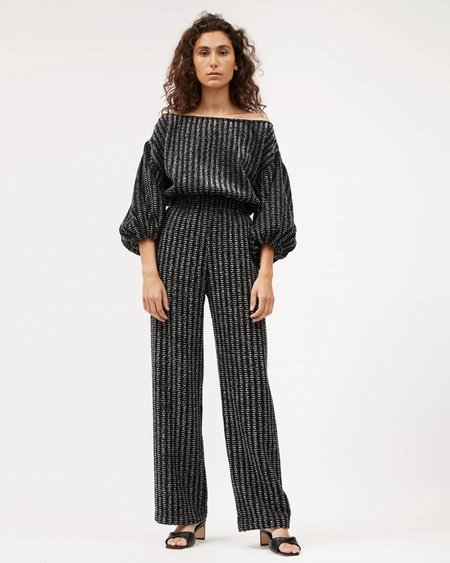 Dominique Healy Gloria Pant - Charcoal Feather
