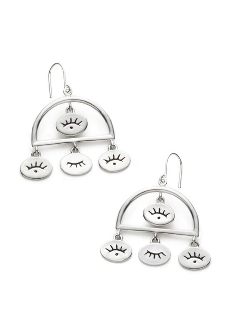 Nina Janvier Nadja earrings I - Sterling Silve