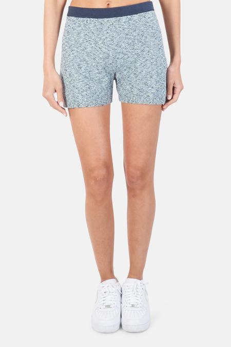 NAADAM High Waisted Shorts - Light Blue