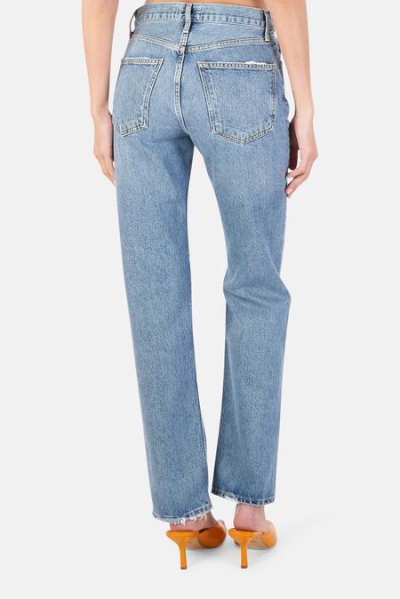 AGOLDE Lana Vintage Straight Pants - Backdrop