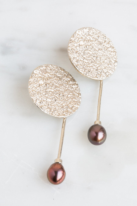 Quarry Francesca Pearl Earrings