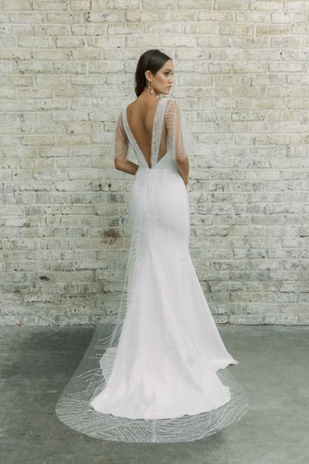 Rime Arodaky sample North Gown dress - white