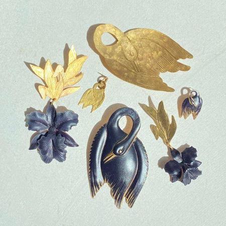 We Dream in Colour Kalea Earring - Brass