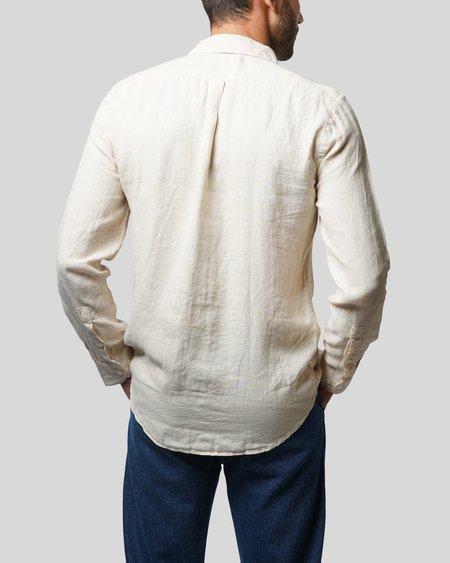 Portuguese Flannel Linen Shirt - Raw
