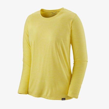 Patagonia Long-Sleeved Capilene® Cool Daily Shirt - Pineapple