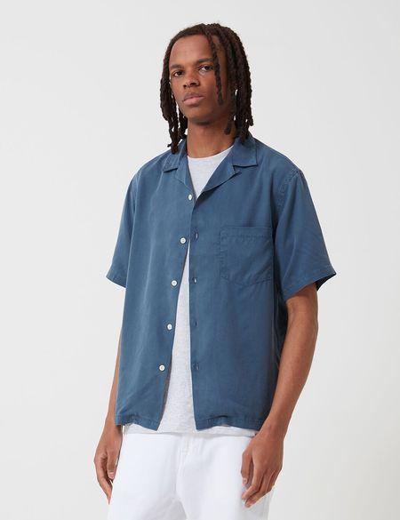 Portuguese Flannel Dogtown Shirt - Blue