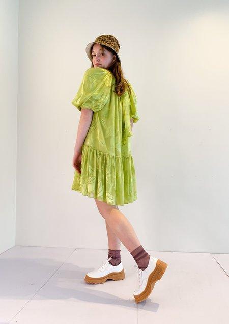 Stine Goya Ava Dress - Lemon Green