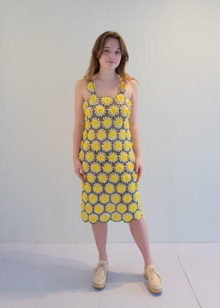 unisex The Series Daisy Dress - black/white/yellow