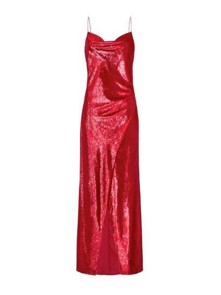 Camilla and Marc Mickey Slip Dress - SCARLET