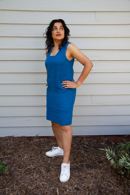 Bhoomki Leela Dress - Laguna Blue