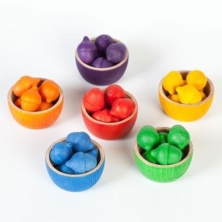 Kids Grapat Bowls & Acorns