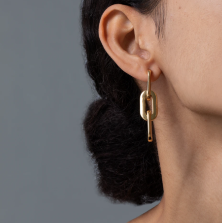 Jenny Bird Toni Drop Earrings - Gold